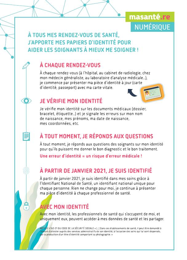 affiche identité numérique dans les soins - TESIS